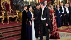 Esta es la foto más analizada de la cena de gala de Felipe VI y