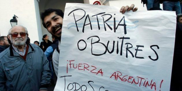 Imagen de archivo de una protesta en
