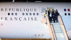 La inesperada escena que Macron y su esposa protagonizaron al bajar del