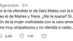 El durísimo tuit contra Josema Juste tras criticar a Dani Mateo que saca su momento más