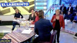 El tenso momento de Celia Villalobos en 'Espejo Público':