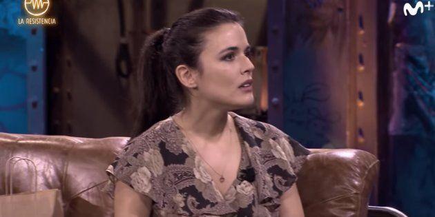Adriana Ugarte en 'La Resistencia' de Movistar +, con David