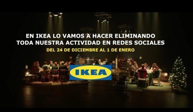 El anuncio de Navidad de Ikea que te hará dejar el móvil en tus comidas