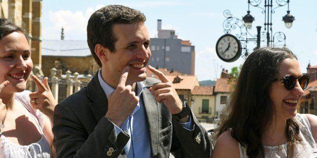 Pablo Casado, candidato a la presidencia del Partido