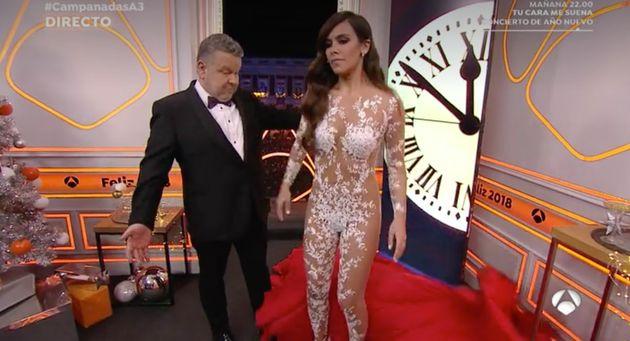 Así fue el vestido de Cristina Pedroche en