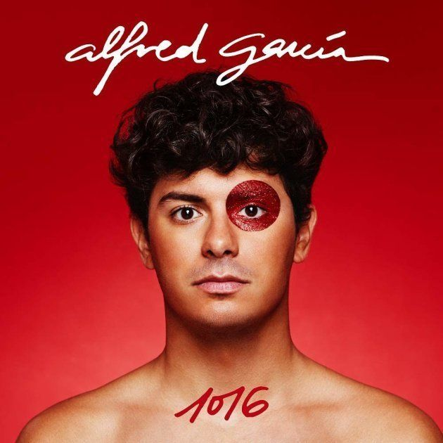 La portada de '1016', el primer disco de Alfred García, exconcursante de Operación