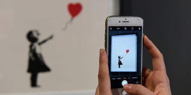 Las obras de Banksy llegan a España en la primera muestra dedicada al