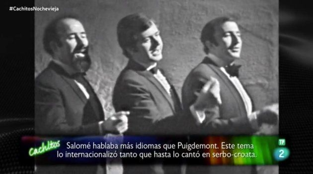 El comentado chiste sobre Puigdemont en este programa de Nochevieja de