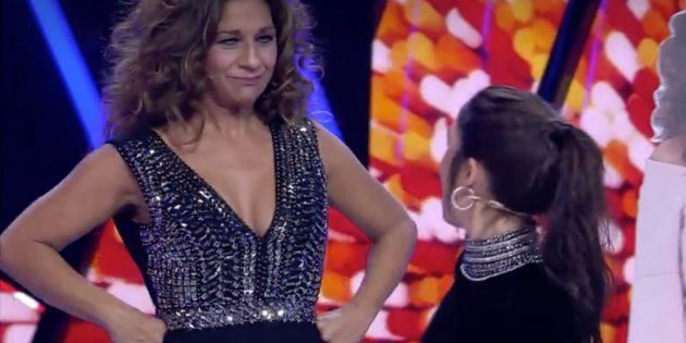 Lolita sorprende a Elena Furiase en 'Tu Cara Me