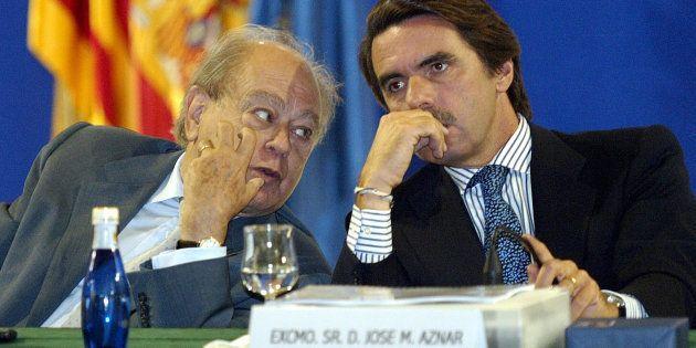 Pujol y Aznar en una imagen de septiembre de