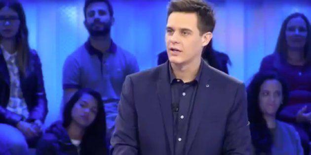 Christian Galvez y Fran son un matrimonio televisivo. El presentador