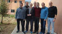 Jordi Sánchez y Jordi Turull inician una huelga de hambre en la
