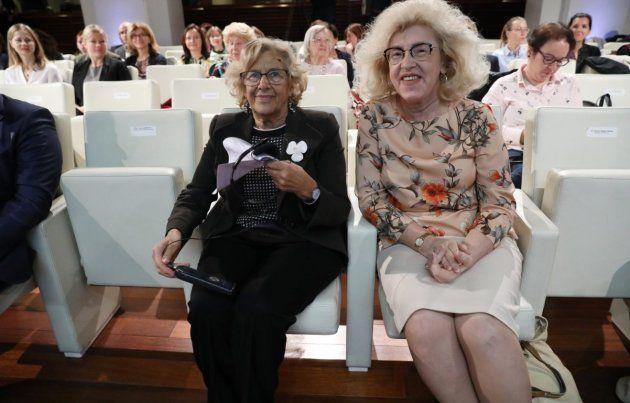 Manuela Carmena y Marzenna