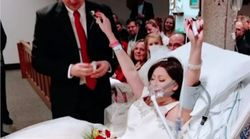 La novia que sucumbió al cáncer 18 horas después de cumplir su sueño de