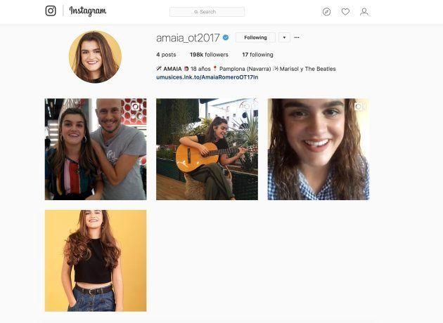 El hito de Amaia de 'Operación Triunfo' en redes sociales que está al alcance de muy