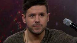 Pablo López se emocionó (y lo contagió) al cantar en directo en 'El