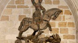 Estupefacción con la restauración que se ha hecho de esta escultura del siglo XVI en
