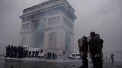 Más de 200 detenidos en París durante las protestas de los 'chalecos