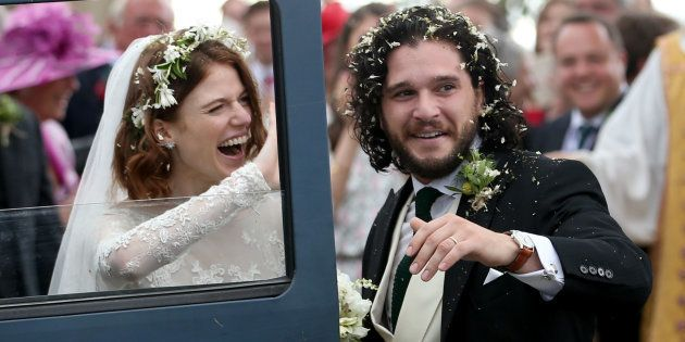 Kit Harington y Rose Leslie, Jon Snow e Ygritte en 'Juego de Tronos', ya se han