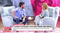 Emma García manda callar a Alonso Caparrós en 'Viva la