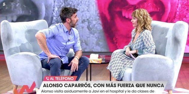 Emma García y Alonso Caparrós en 'Viva la