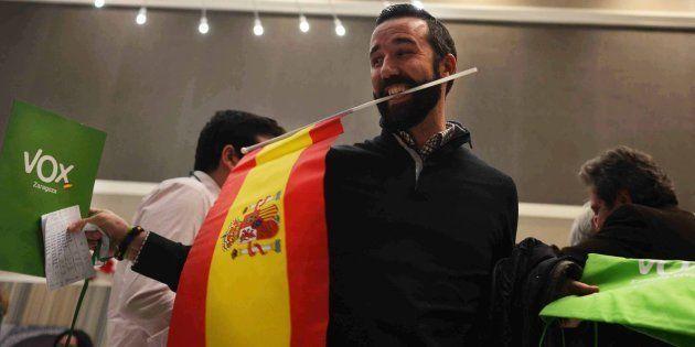 Vox celebra los resultados en Andalucía el 2 de diciembre de