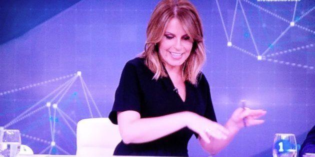 Pilar García Muñiz, presentadora del 'Telediario' de
