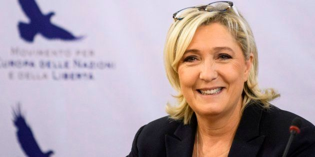 Marine Le Pen felicita a Vox antes de los resultados: