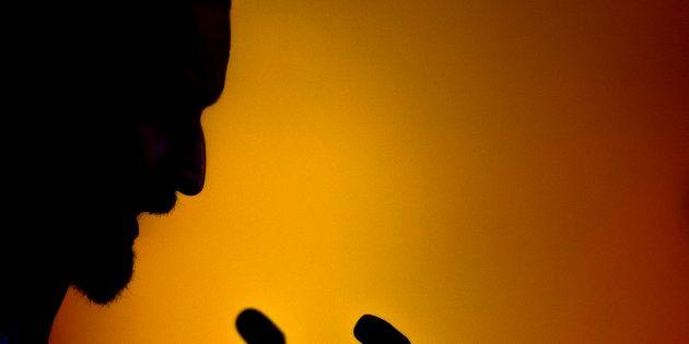 Santiago Abascal, líder de Vox, este