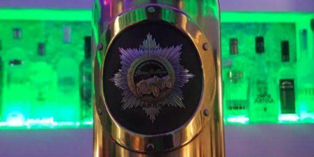 Imagen de la botella de vodka de la marca