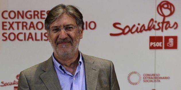 Jose Antonio Perez Tapias durante las primarias para elegir al secretario general del PSOE en 2014. PIERRE-PHILIPPE...