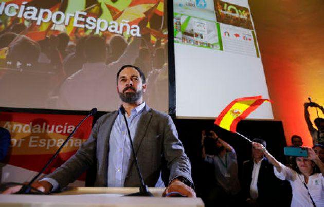 Santiago Abascal, cabeza de