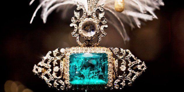 Una de las piezas de la colección que ha sufrido el robo en Venecia; por el momento no ha trascendido...