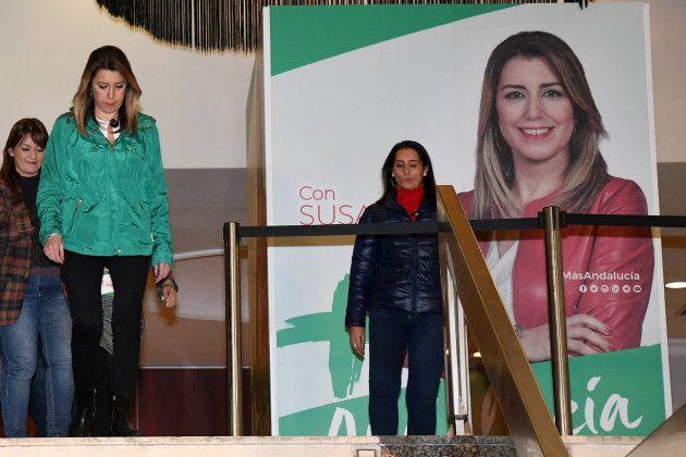 Susana Díaz, tras la