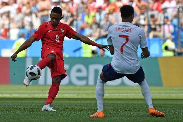 Uno de estos once jugadores de Panamá está provocando mucho cachondeo en