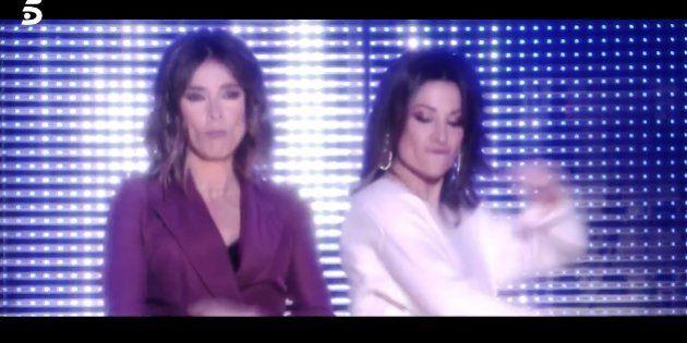Sandra Barneda y Nagore Robles, en 'GH