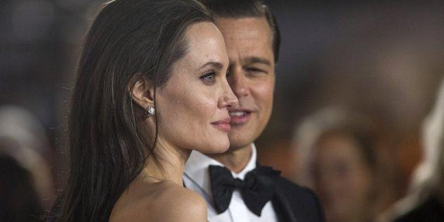 Angelina Jolie y Brad