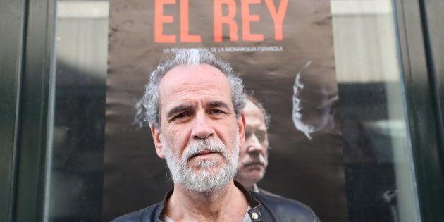 Willy Toledo durante la promoción de la película 'El