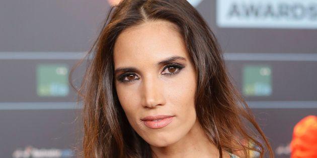 La cantante India Martínez, en la fiesta de nominados de Los 40 Awards, el 14 de septiembre de
