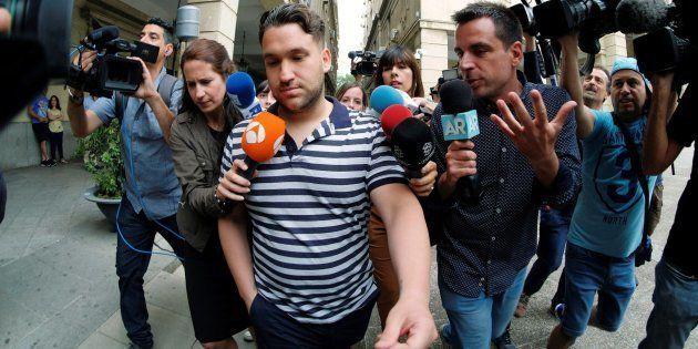 José Ángel Prenda, uno de los componentes de 'La Manada', en libertad