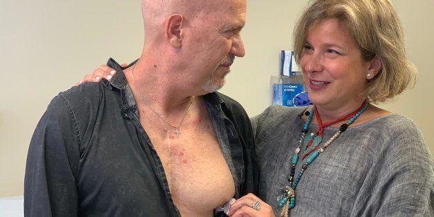 El emotivo encuentro entre la madre de un donante de corazón y su receptor en 'El