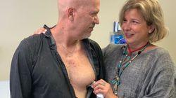 El emotivo encuentro entre la madre de un donante de corazón y su