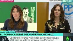 Tenso encontronazo entre Mamen Mendizábal y una política del PP en 'Más Vale