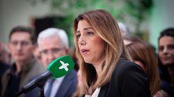 El primer tuit de Susana Díaz tras su batacazo en las