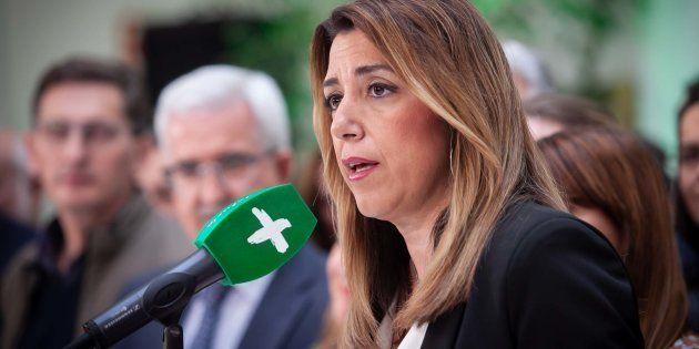 El primer tuit de Susana Díaz tras su batacazo en las elecciones:
