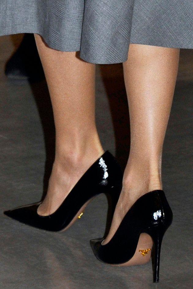 El curioso y deslumbrante detalle de los zapatos de