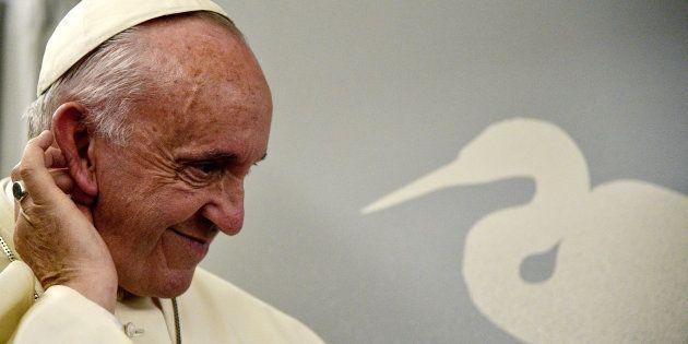 El papa Francis, durante su viaje a Myanmar, el pasado