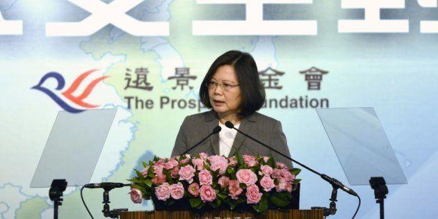 Tsai Ing-wen, presidenta de