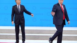Trump, cazado en el G20: