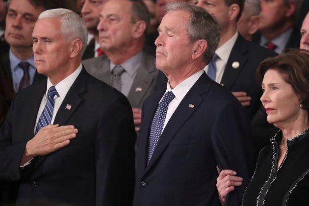 Homenaje a Bush